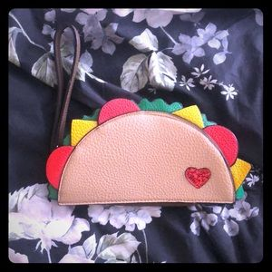 Handbags - Amazing one of a kind taco 🌮 wallet / clutch
